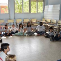 Sesión de Lavinia Vila en el CEIP Antonio Machado de Fuenlabrada