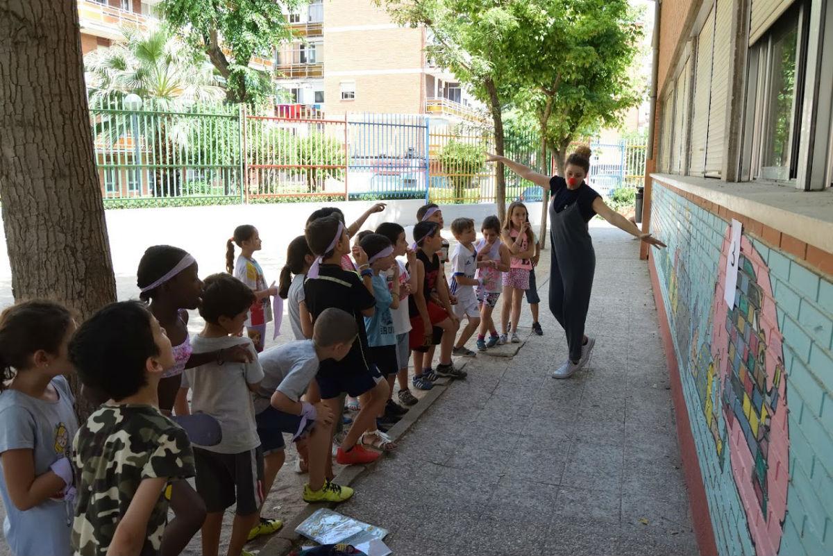 Gymkhana emocional en el CEIP Antonio Machado